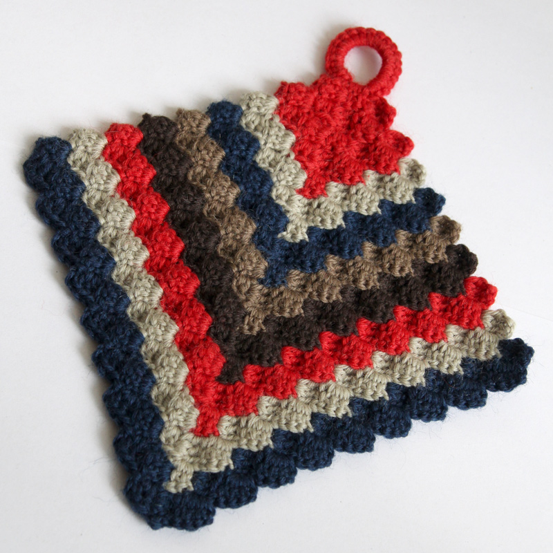 Crochet Potholders : Crochet potholder