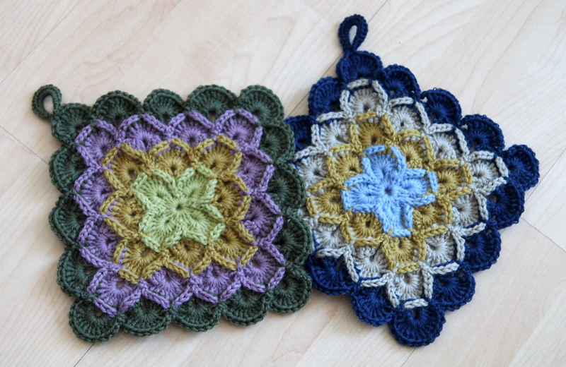 Crochet Potholders : Crochet potholders