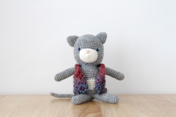 How to test the placement of eyes on an amigurumi character