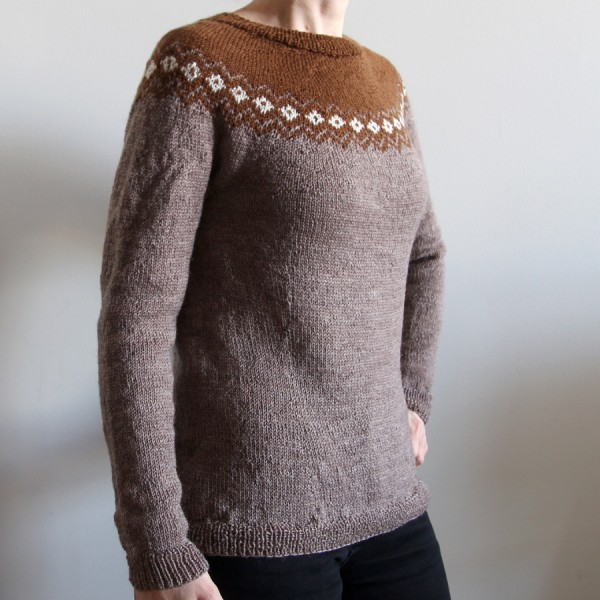 Saint Rémy top-down pullover